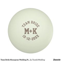 Graphics and More Personalized Custom Bridal Squad Wedding Marriage Bachelorette Black Teal Novelty Table Tennis Ping Pong Ball 3 Pack