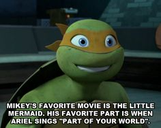 Mikey's favorite movie by ~MariaRobotnikForever on deviantART uh what just happened here