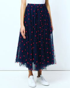 Hues of blues and reds! #musthavecolours #red #blue #skirts #tule #nylle #editori #limassol #cyprus