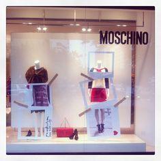 Photo by vel24  #moschino #mymoschino #windowsplay