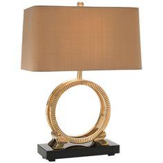 John Richard Rings of Eternity Table Lamp