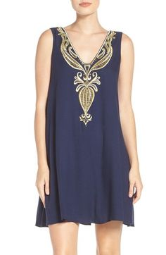 d1fddaafeb Lilly Pulitzer® Owen Embroidered Trapeze Dress available at  Nordstrom Dress  Lilly