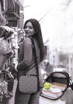 ¡Llega el otoño! Cubic Happy Lunchbag es un buen complemento para llevar la comida fuera de casa con estilo.