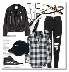 """""""fall"""" by amanda-lexi ❤ liked on Polyvore featuring Acne Studios, Topshop, Madewell, Vans, Nike Golf and Carbon & Hyde"""