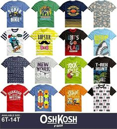Baju Anak Branded · Open PO oshkosh junior boy fullprint aa156c602f