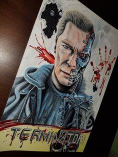 Arnold Schwarzenegger by billypower_Art