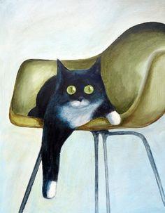 post / modern amina o.: cat