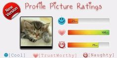 Find Out Your Profile Picture Ratings using Facebook Fun App | Find your result Click Here