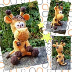 Amigurumi Giraffe - crochet pattern by Lovely Baby Gift