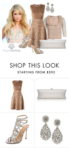 """""""SHOP - Alysse Sterling"""" by alyssesterling ❤ liked on Polyvore featuring Paris Hilton, Maison Ullens, Sergio Rossi and Oscar de la Renta"""