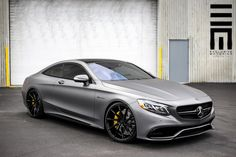 Mercedes-Benz w222 S63 W12 AMG - on VOSSEN Wheels \ matt grey collor