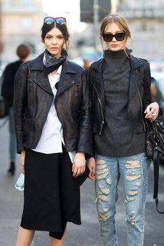 Street Style Milan Fashion Week Street Fall 2014