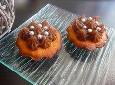 Papilles on/off: Cupcakes amandes et crème de marrons au thermomix ...