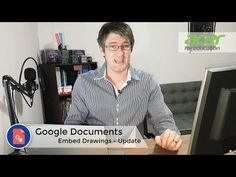 (33) Google Documents Update - Embed Google Drawings | Tips and Tricks Episode 17 - YouTube Time Saving, Drawing Tips, Drawings, Google, Youtube, Sketches, Drawing, Portrait, Youtubers