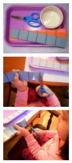 scissors activity for little hands