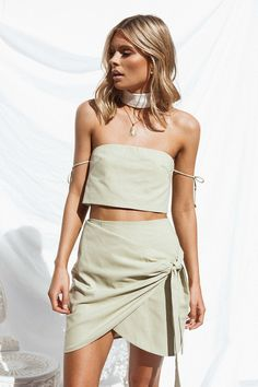 dd5c0af8f0 Avetta Wrap Skirt - Bottoms by Sabo Skirt