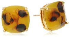 "Amazon.com: Kate Spade New York ""Kate Spade Earrings"" Tortoise"