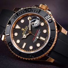 Rose Gold Rolex Yachtmaster. Novelty!