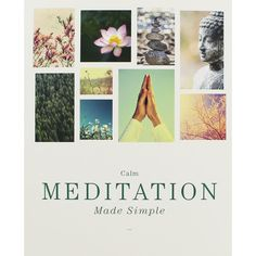 Meditation Made Simple Calm Meditation, Make It Simple, It Works, Alternative, Spirituality, Range, Reading, Products, Cookers