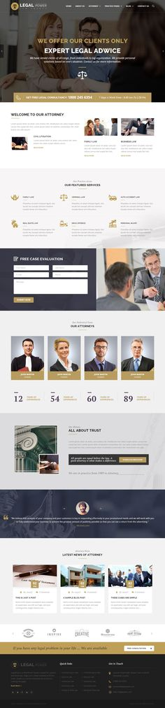 LegalPower – Attorney / Lawyer WordPress Theme. This template is perfect for theme for Attorneys, Lawyers, Law Agencies and other similar businesses Website. #Lawyerswebsite #LawTheme #wptheme check out http://www.imedia.click for more awesome info on how to build your Amazing wordpress website
