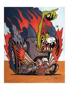 The Lowbrow Hot Rod Monster Art Of Stanley Mouse