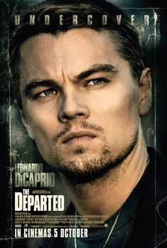 The Departed was the film that made me fall in love with Leonardo DiCaprio Martin Scorsese, Leonardo Dicaprio Movies, Foto Poster, The Departed, I Love Cinema, Movies Worth Watching, See Movie, Jack Nicholson, Hollywood
