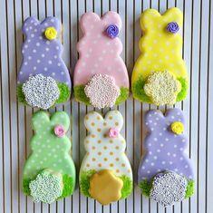 "177 curtidas, 9 comentários - Prima Donna Custom Cookies (@primadonnacookies) no Instagram: ""Hippity, hoppity, Easter's on its way! """