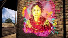 in Far Cry 4 videogame (Ubisoft) Far Cry 4, Urban Painting, Best Street Art, Stencil Art, Chalk Art, Street Artists, Community Art, Urban Art, Creative Art