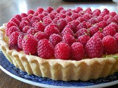 Frambozen Passievruchten taart