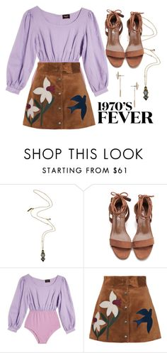 """""""Good Girls Revolt: Patti"""" by jenmontreal ❤ liked on Polyvore featuring Nocturne, Samantha Pleet and RED Valentino"""
