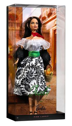 Barbie Dolls of The World Italy Barbie Doll  by Mattel