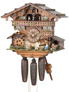 Snow White And The Seven Dwarfs Cuckoo Clock So Cute