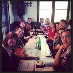 Uno de los primeros encuentros de la Asociación: entre bloggers y amigos