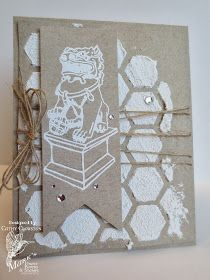 Paper, Ribbon, and Thread: MFP February Blog Hop Day #1 - Foo Dogs