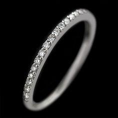 Milky Way Diamond Wedding Band | MiaDonna.com