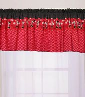 Minnie Mouse Window Topper