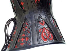 corset with gussets side view by ~crissycatt