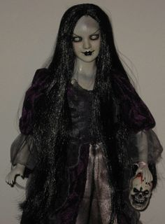 Creepy Horror Gothic Scary Ooak 22