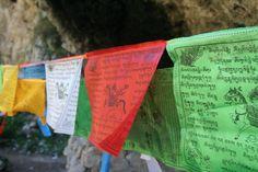 Prayer Flags at Langmusi, Gansu province