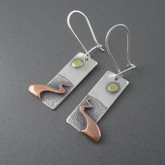 Chocolay Bayou Sunrise Earrings
