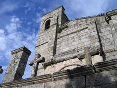 Iglesia de Santiago, Barbadelo, Lugo #Galicia #CaminodeSantiago #LugaresdelCamino