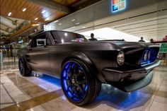 Mustang matt black yes please! Ford Mustang, Mustang Girl, West Coast Customs, Old School Cars, Sweet Cars, Expensive Cars, Future Car, Fast Cars, Custom Cars