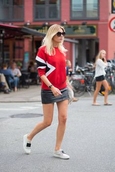 The best street style photos from Copenhagen Fashion Week. See all the new looks here: