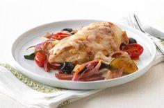 Mediterranean Mozza-Chicken Recipe - Kraft Recipes