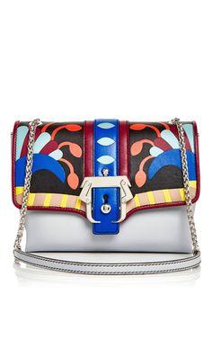 92cca76923 Carine Leather Bag With Plexi Studs by PAULA CADEMARTORI Now Available on  Moda Operandi Satchel Purse