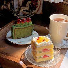Pretty Cakes, Cute Cakes, Cute Desserts, Dessert Recipes, Comida Picnic, Cute Baking, Good Food, Yummy Food, Think Food