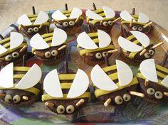 Bienen-Muffins
