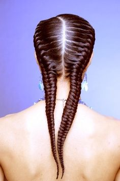 fishtail cornrows | Goddess braids look amazing for corporate jobs and can protect natural ...