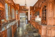 Just one of the home's three (we repeat: three!) kitchens.