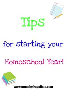Homeschooling? Check out these great tips to get your #homeschool year started out on the right foot! http://www.crunchyfrugalista.com/starting-your-homeschool-year-fostering-a-love-for-learning/